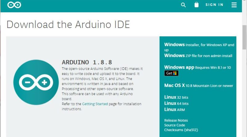 Arduino code download
