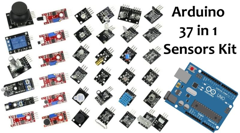 Arduino Sensors | 37 in 1 Sensors Kit Explained with Name – Do Connect